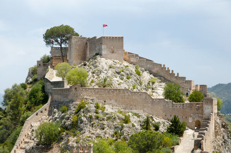 Castle of Xativa SPAIN Castle España Fort Xativa