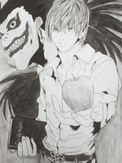 Death Note Manga Art Drawing