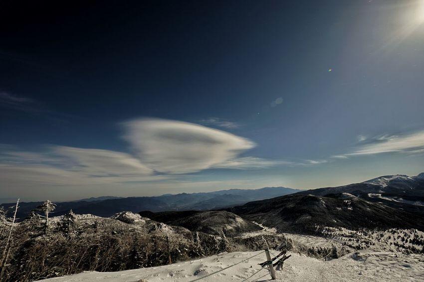 Mountain Peak Snow Winter Trekkinng Nature Landscape Mountain Sky Outdoors Cloud - Sky Day