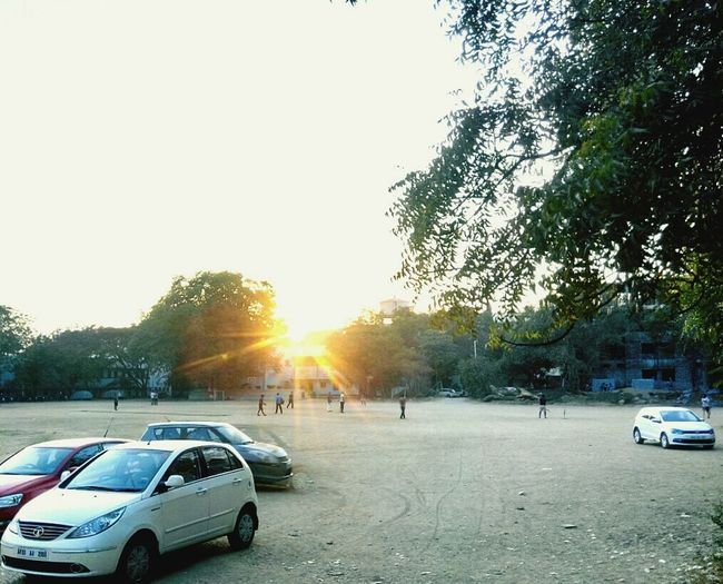 Sunset pic Mobile_camera Pleasant Evening at omc,hyd