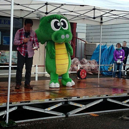 Mascot Characters Of JAPAN ご当地キャラ Hokkaido,Japan Japan 洞爺湖町の洞龍(とうろん)くん(・ω・)。