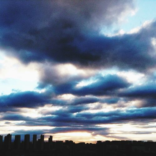 Morning Clouds And Sky 呼和浩特市 Hohhot