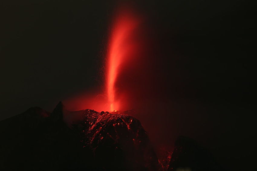 Mount Sinabung Volcano eruption ASIA Discover Your City Eye Em Around The World EyeEm Best Shots EyeEm Photo Of The Day EyeEmNewHere Getty Images Nightphotography Volcano Landscape Environtment Getty Creative Gettyimagesgallery Landscape Mountain Night Photo Of The Day Topshot Volcano Volcano Eruption AI Now