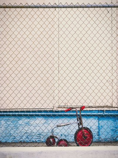 still caged / #shotoniphone7plus #rnifilms #photography Chainlink Fence Wall - Building Feature No People Rnifilms ShotOnIphone