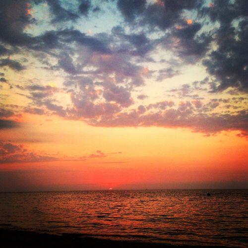Gunes Deniz Gunbatimi Yalova Sun Sea Sunsey ☀️