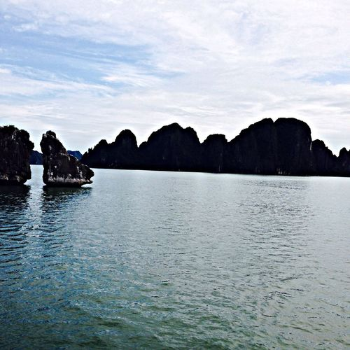 Visited the beautiful Ha Long Bay today. ❤️❤️ Taking Photos Hello World Nature_collection