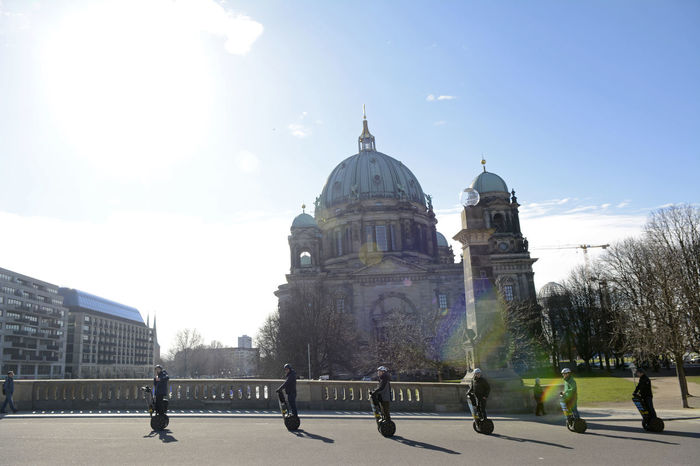 berlin dome Architecture Berlin Berlin Dome  Built Structure Cathedral Dome Famous Place Germany Religion Segway Sky Tourism Tourists Travel Destinations