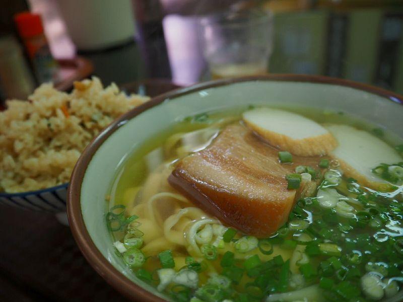 昼飯 沖縄ソバ Okinawa Naha-shi Naha