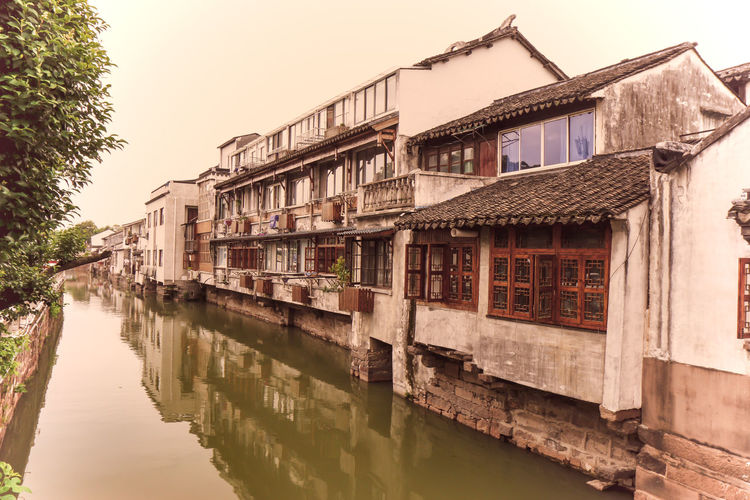 Xitang (Chinese: 西塘; pinyin: Xītáng) is an ancient scenic town in Jiashan County, Zhejiang Province HeritageVillage Old Town Old Residential Area Vintage Colors Architecture Building Building Exterior Built Structure Heritage Of Humanity Herritage Building History Architecture History Place House Nature No People Old Color Outdoors Reflection Residential District River Vintage Collection Water Water Town Waterfront Watertown