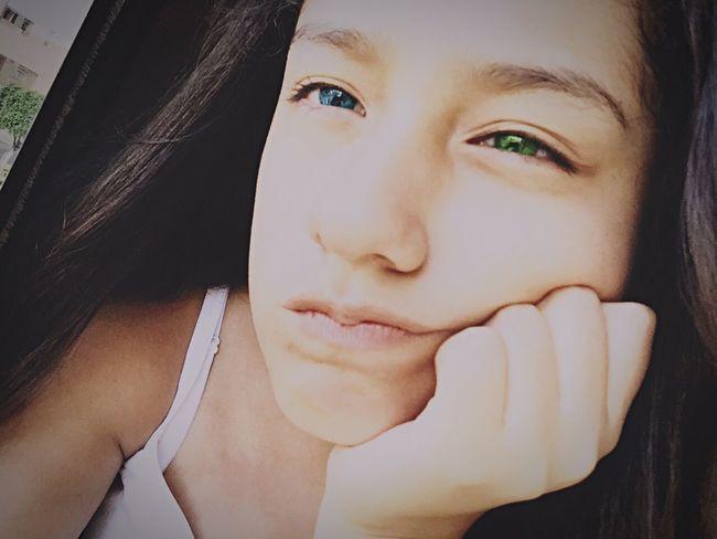 Blue Eyes Green Eyes