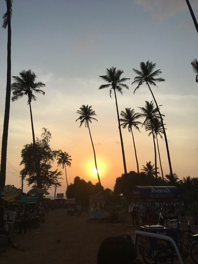 Sunset Sky Nature Beauty In Nature Scenics Beach Outdoors Me In Goa