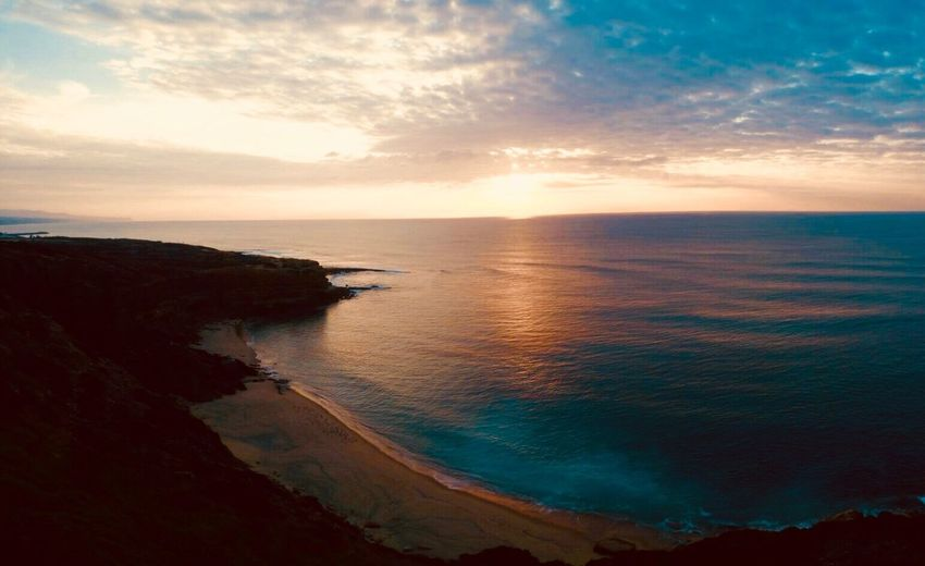 Ericeira Portugal Sea Scenics Beauty In Nature Nature Tranquil Scene Water Horizon Over Water