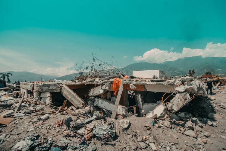 Sulawesi earthquake and tsunami