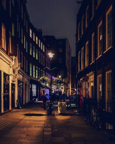 Architecture Building Exterior Soho by Night Night City Outdoors Illuminated No People Sky London