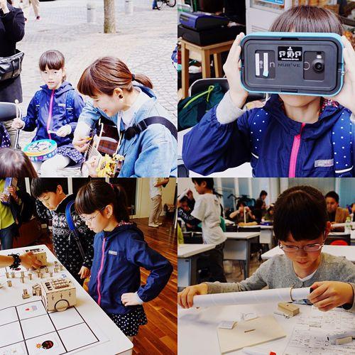 今日は娘と未来技術のイベントに。天体望遠鏡作ったり、VR楽しんだり、ドローン飛ばして楽しみました。^^ Education Learning Children Playing Walking Around Event Events Science And Technology Science Project
