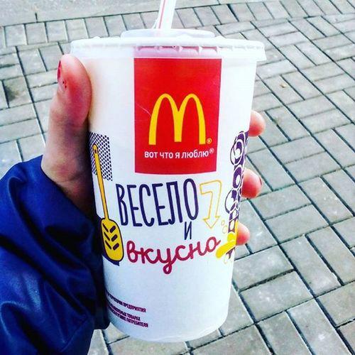 Makdonalds Cocacola Cold Iloveyou Happyme