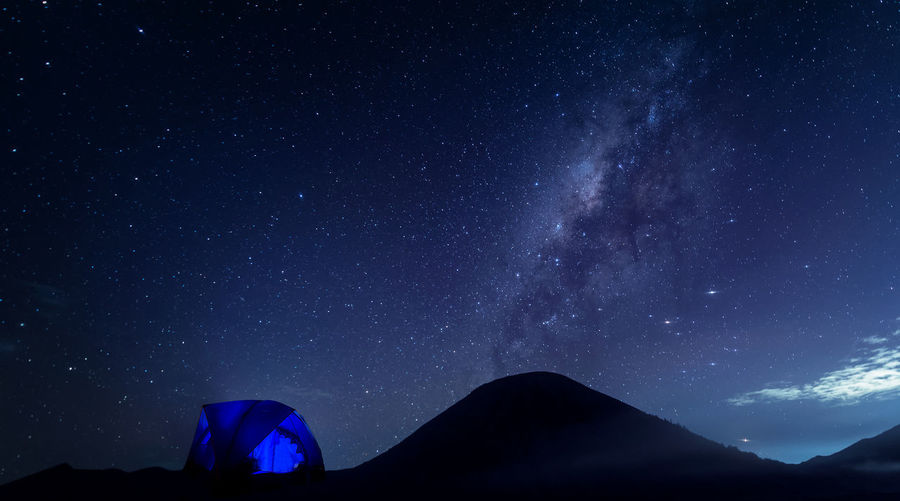 Adventure Astronomy Beauty In Nature Constellation Galaxy Landscape Milky Way Mountain Nature Night No People Outdoors Scenics Sky Space Star - Space