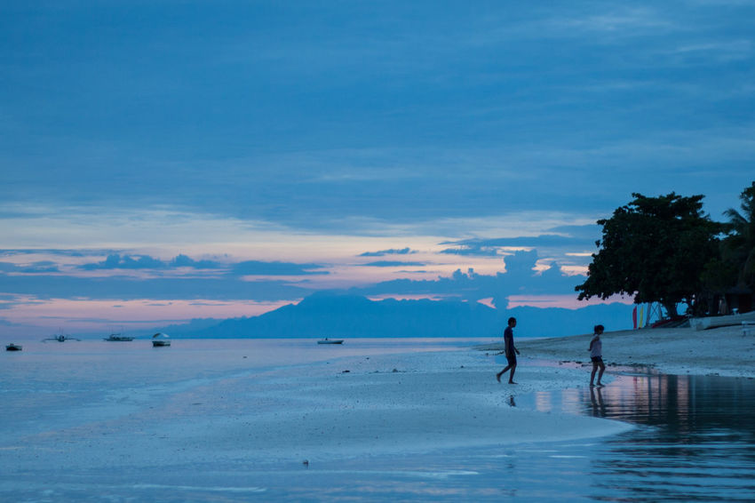 Protecting Where We Play Bohol Philippines Beach Sunset Canon Silhouette Edge Of The World Blue Wave