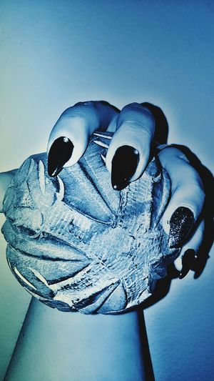 My hands... Heart Shape Blue Human Body Part Protective Workwear Close-up Sky One Person People Real People Black Background Detailshot Details In Close Up Transitional Moments MyTouch Myfingers  Nail Polish Human Hand Reflections Messages From The Universe