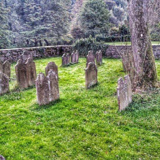 Friedhof Hdr Edit Graveyard Gräber