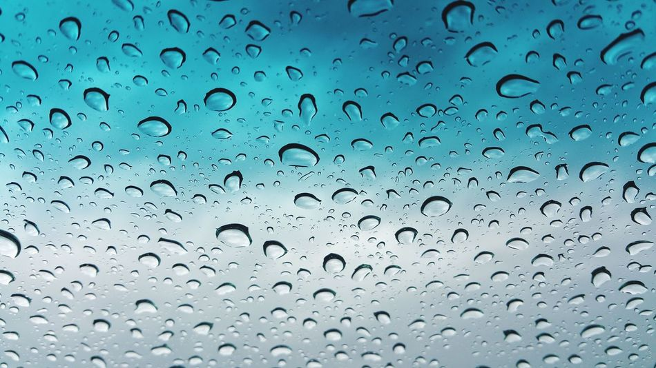 Freshness Rain Taking Photos Enjoying Life Refraction Low Angle View View From The Window... Car Sky And Clouds Sunlight Raindropshot Raindrops On My Window Rainy Day