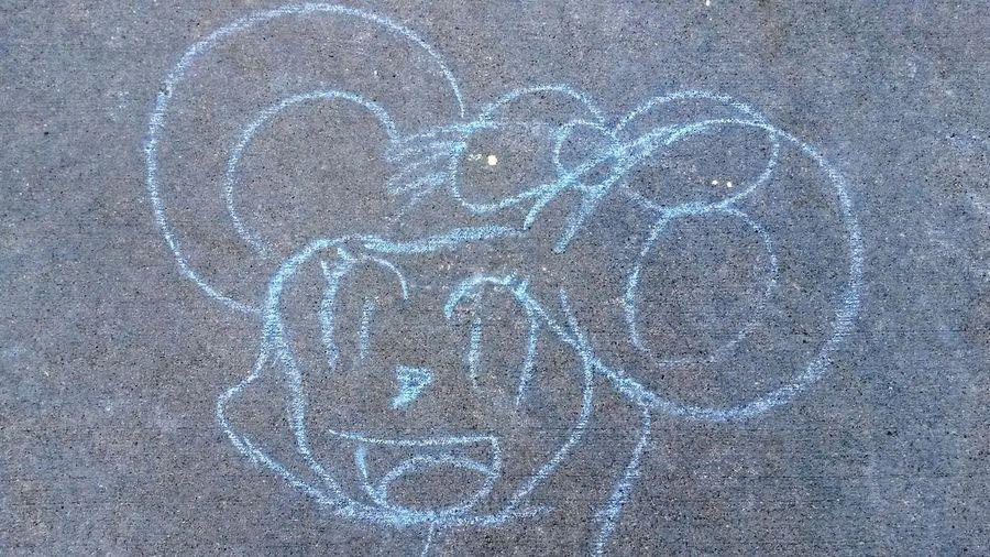 Sidewalk Chalk Macalester Summertime St Paul Mn America