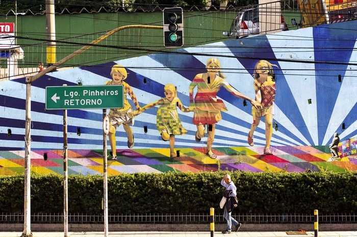 Photo 3/3 - Yesterday walking near Benedito Calixto square in São Paulo I went to see Eduardo Kobra street art , All I can say is that his work is Fantastic, Beatiful!! Ontem Andando proximo Pca Benefito Calixto fui ver Mural do Artista Eduardo Kobra @kobrastreetart Obra Fantastica deste Grande Artista Brasileiro Vale Confirir!!! Urban Lifestyle My Smartphone Life Streetphotography Streetart Graffiti Kobra EduardoKobra Saopaulo Beneditocalixto The Street Photographer - 2015 EyeEm Awards