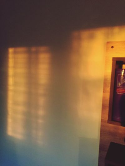 Sunset 🌅 Shadow Play IPhone IPhoneography Sun Sunset Shadows & Lights Shadow Indoors  No People Illuminated Close-up Day