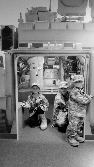 Don't grow up too fast! All Grown Up Pretending Military Life Army Infantry National Infantry Museum Museum Columbus, Ga