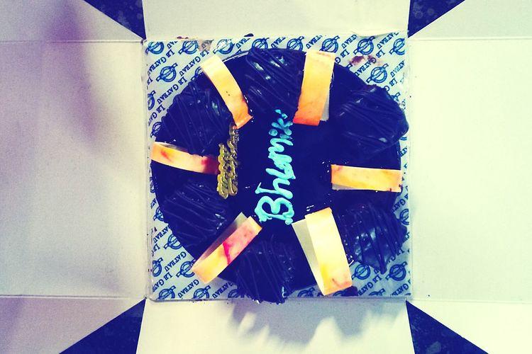 Cake Chocolate Birthday Cake EyeEm Selects Alphabet Close-up
