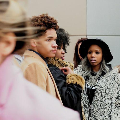 Street Fashion at Lincoln Center NYFW 2015 Streetphotography Nyfw Recentwork People fashionweewk mbfashionweek