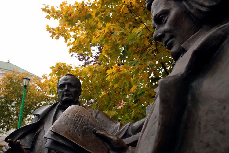 Autumn Autumn Colors Belarus Soviet Era Sculpture Soviet Soviet Architecture Travel Destinations