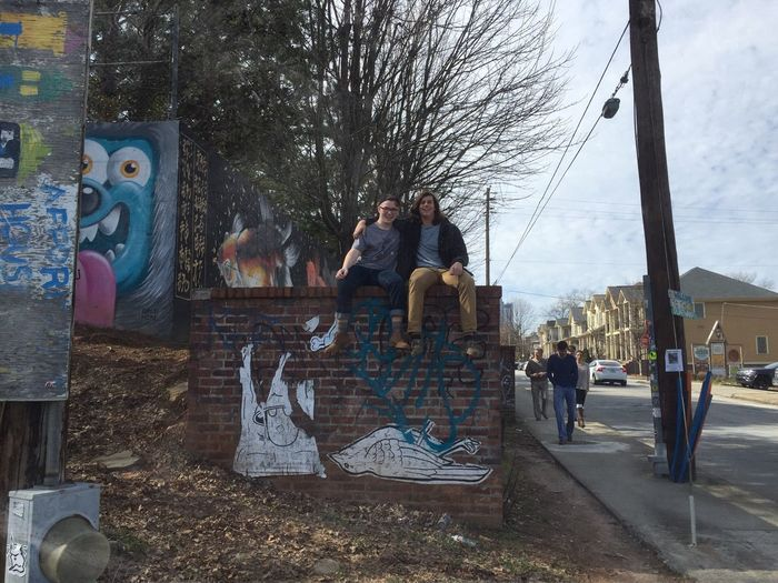 Graffiti Brick Wall Bro Live A Little  Hanging Out Showcase: February Cold Outside The Photojournalist - 2016 EyeEm Awards The Portraitist - 2016 EyeEm Awards