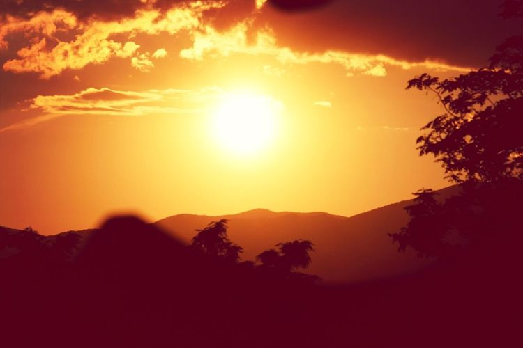 Sunrise Beautiful Day Keep Calm And Be Happy