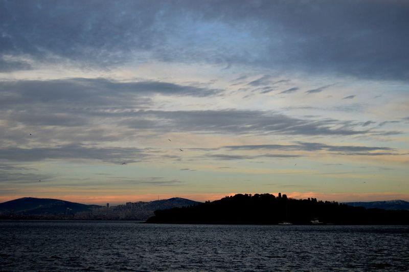 Adalar Burgazada Güneşin Batışı