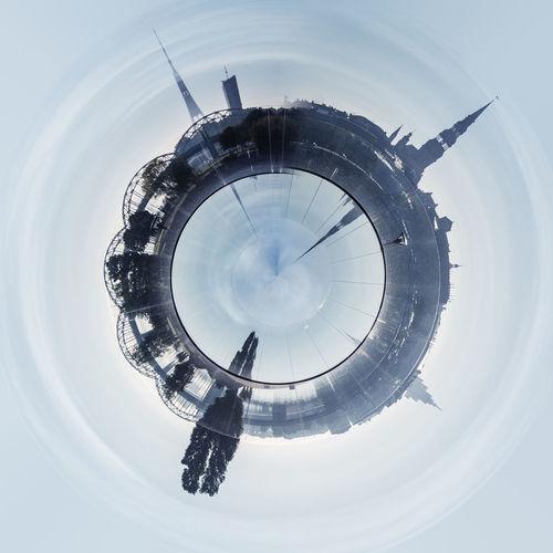 Little planet 360 degree sphere. Panoramic view of Riga city. Latvia 360 Degree Architecture Circle City Cityscape Daugava River Latvia Panorama Panoramic Skyline Sphere TOWNSCAPE Architecture Building Exterior Built Structure Day Landscape Outdoors Planet Riga Skyscraper Three Dimensional Three Dimentional Photography Urban Landscape Urban Skyline