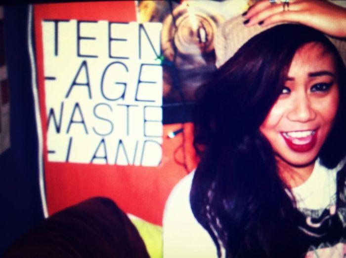 Teenage Wasteland.