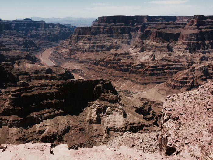 Grand Canyon National Park Grand Canyon Nature Rock Formation No People Sky Environment Scenics - Nature Landscape Rock High Angle View Beauty In Nature Mountain Land Non-urban Scene