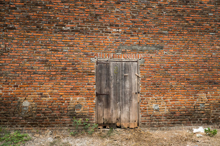 Old weathered wall