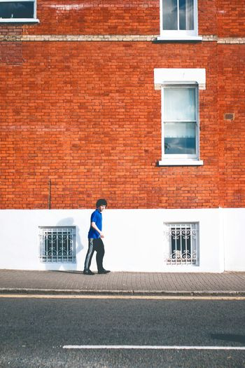 Building Exterior Architecture Built Structure Window Full Length One Person Outdoors Day One Man Only Walking Only Men Men Adults Only Adult People Young Adult London EyeEm LOST IN London EyeEm LOST IN London