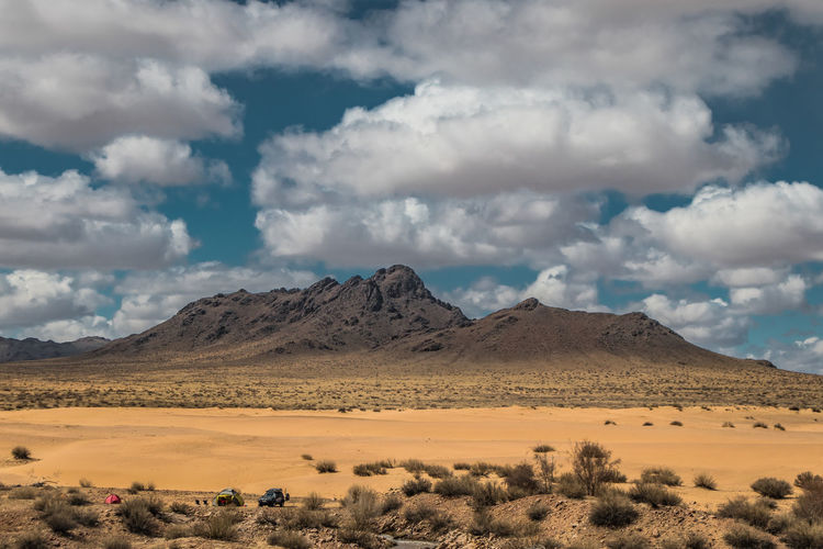 Mongolia Sky Scenics - Nature Cloud - Sky Landscape Environment Beauty In Nature Tranquil Scene Desert Tranquility Mountain Non-urban Scene Land No People Nature Arid Climate Climate Remote Day Mountain Range Plant Outdoors Semi-arid