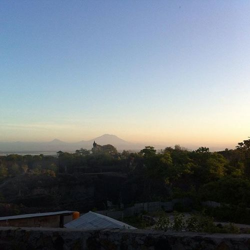 Clear Morning Love Sun Sky Blue View GWK Balinese Bali Balance