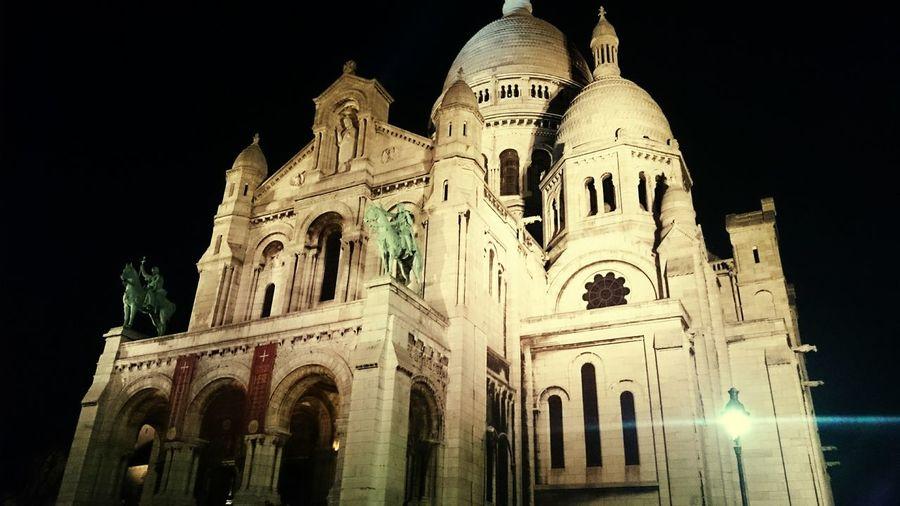 La Basilique Du Sacré Coeur De Montmarte