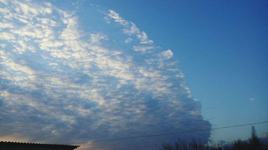 небо и облака небо облака закат🌇 Закат Sky Sky And Clouds Sunset