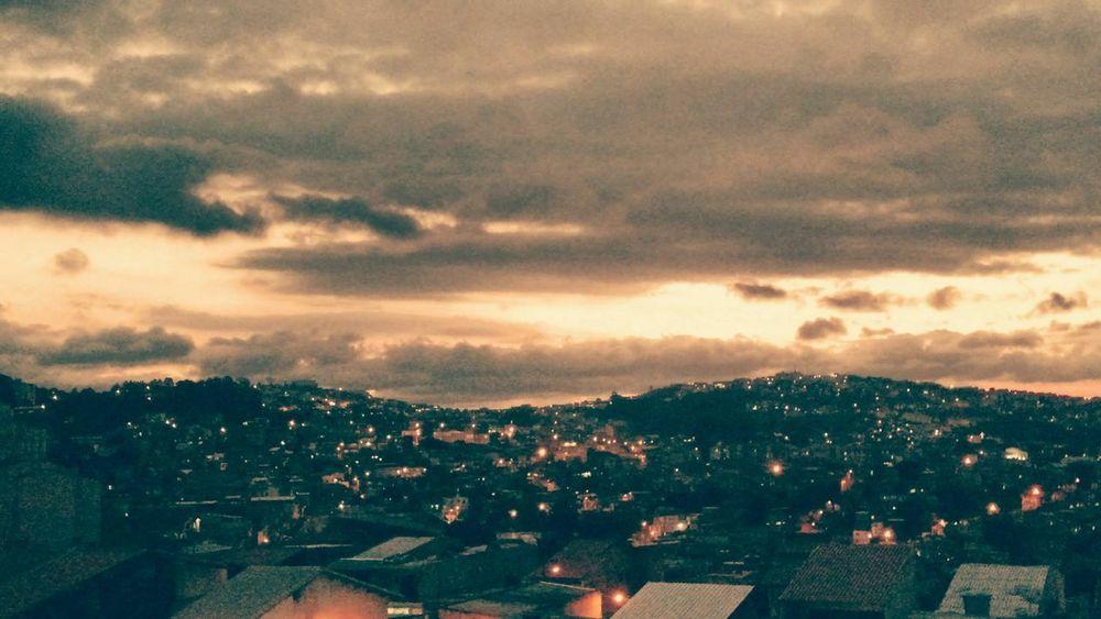 Sky Town City Cityscape