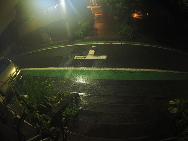 午前3時頃凄まじい雨音で目が覚めた!雨の凄さ、伝わらないよなぁ(笑)Taking Photos Taking Pictures Hard Rain Midnight