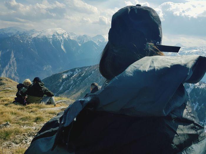 Mountain Range Hiker Snowfall Scenics Tranquility Countryside The Great Outdoors - 2019 EyeEm Awards