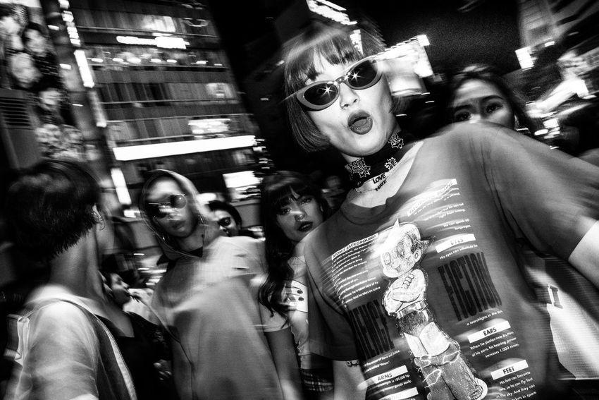 Shibuya, Tokyo, Japan, 2017 Blackandwhite Streetphotography The Street Photographer - 2018 EyeEm Awards