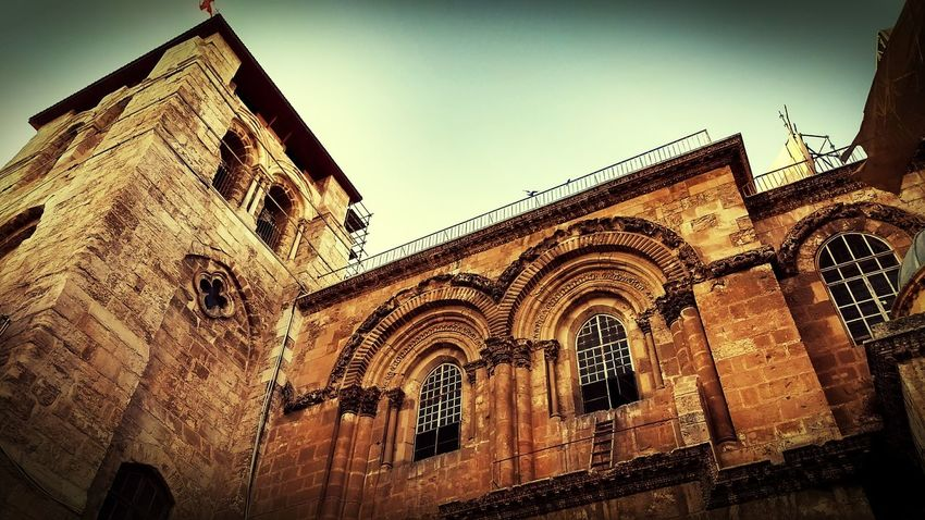 The place where Jesus was crucified and said to have been burried. First Eyeem Photo