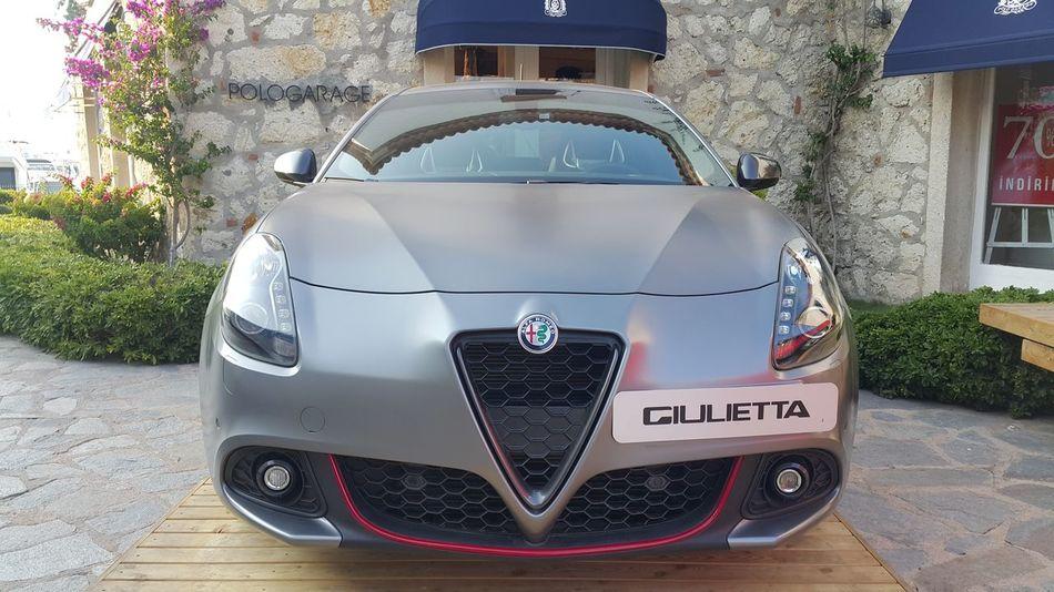 Giulietta Alfaromeo Car Cars Araba Arabalar Çeşme Izmir Turkey